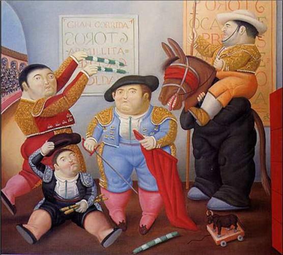 Exposici n de fernando botero en bellas artes ahuizote for El jardin de botero