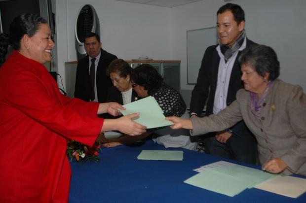 El Colegio de Enfermería recibe registro de Educación en el Estado