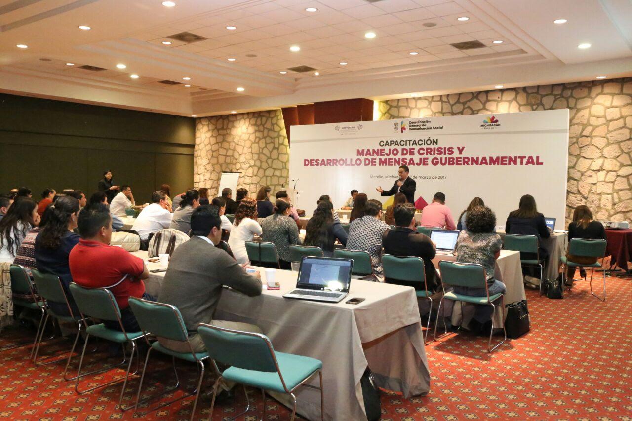 La CGCS ofrece Taller sobre el Manejo de Crisis y Desarrollo de Mensaje Gubernamental.