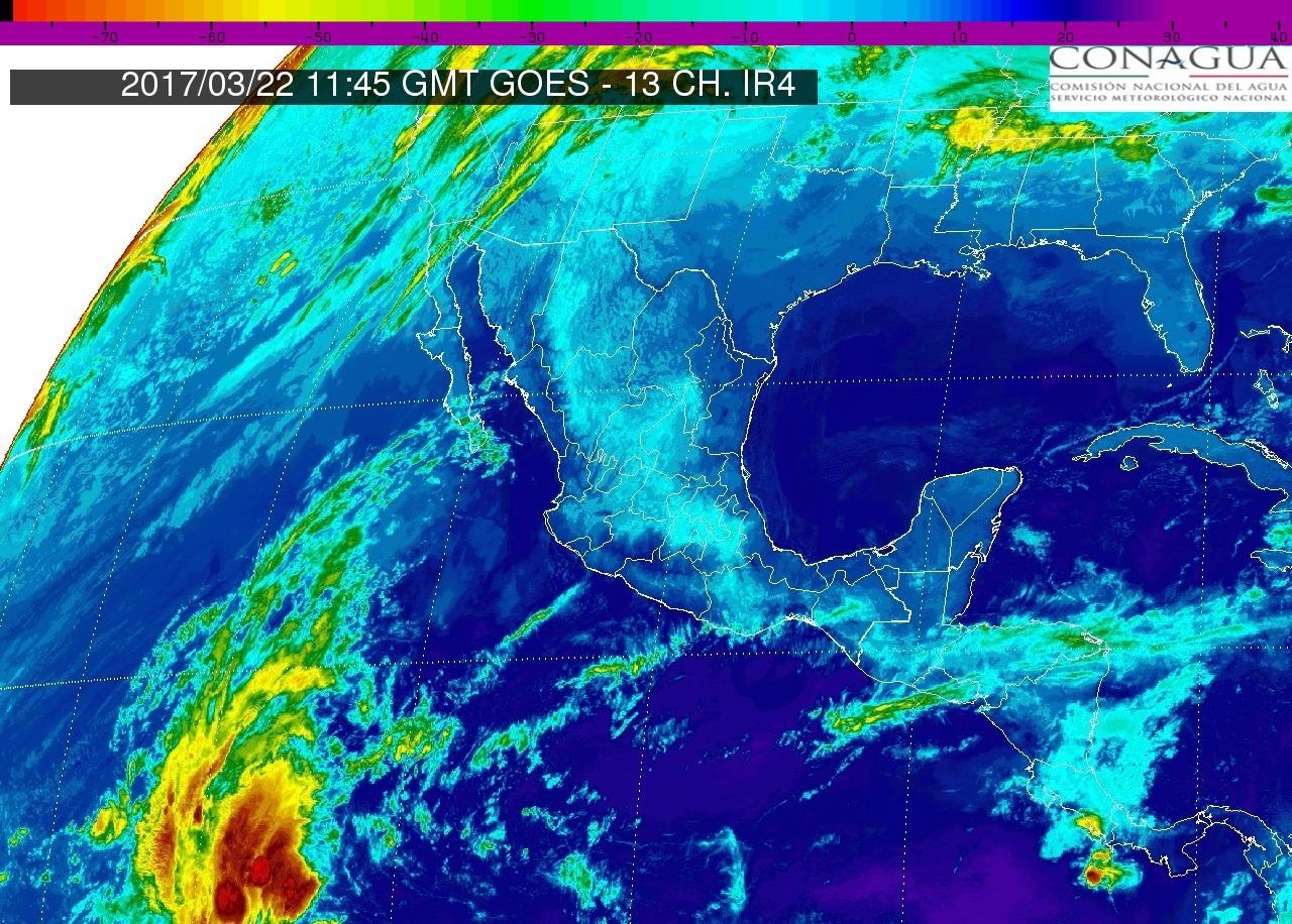 En Michoacán y en gran parte del país se mantendrá ambiente seco y caluroso durante el día