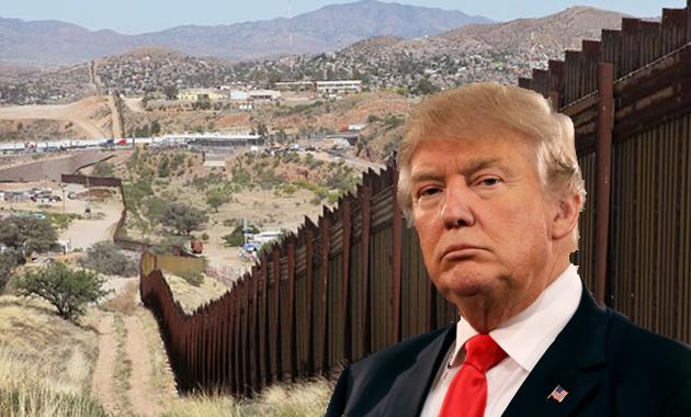 """Donald Trump asigna 2 mil 600 millones de dólares para la """"planificación, diseño y construcción"""" del muro"""