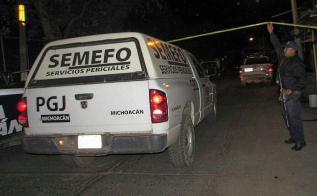 Asesinas a dos hombres en Sahuayo