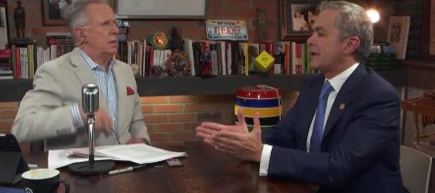 Miguel Angel Mancera quiere ser candidato a la Presidencia de la República en 2018