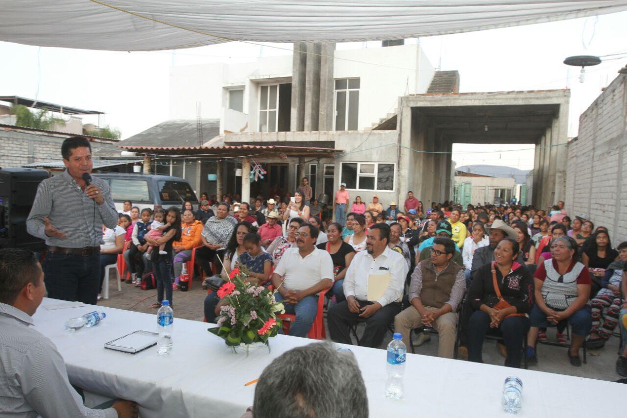 PRD se mantiene cercano a campesinos y ganaderos; García Conejo sostiene diálogo