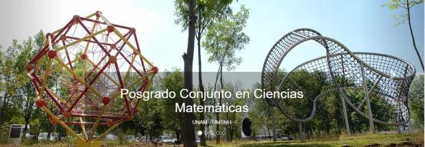 Posgrado conjunto en Ciencias Matemáticas UNAM-UMSNH