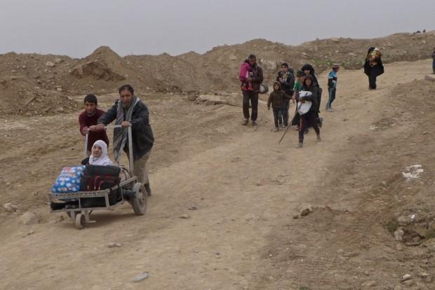 Medio millón de personas han huido de Mosul tras seis meses de combates