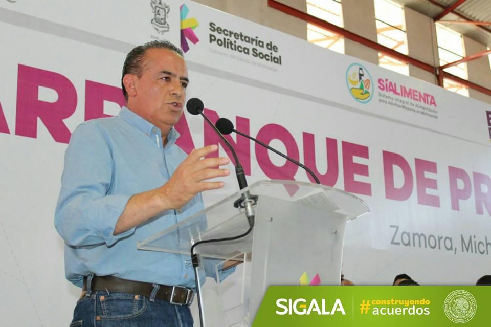 Congreso coadyuvante en acciones para transformar Michoacán: Sigala