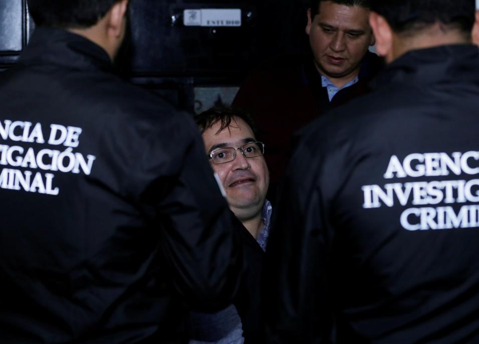 Preso el ratero del exgobernador priista de Veracruz, Javier Duarte, no ha recibido visita ni de familiares, amigos ni abogados