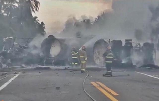 Las 24 personas que murieron en el accidente sobre la Autopista Siglo XXI llegaron al Servicio Médico Forense del Gobierno del Estado de Michoacán