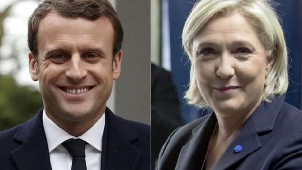 Habrá segunda vuelta en las elecciones presidenciales de Francia y Emmanuel Macron se perfila al triunfo