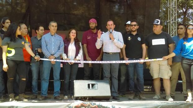 Inauguran sexta edición del Festival Gastro Cervecero Michoacán 2017 en CECONEXPO