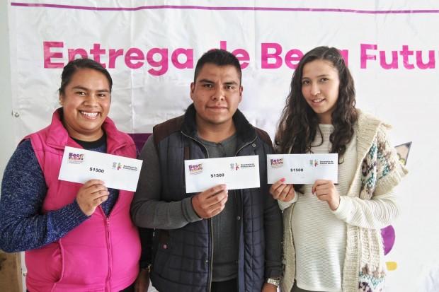 Continúa envío de dígitos a beneficiarios de Beca Futuro para que cobren su primer apoyo