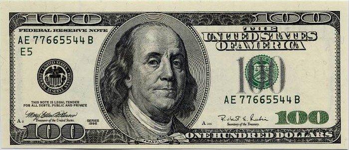 En ventanilla bancaria, el billete verde se vende en 18.95 unidades este lunes
