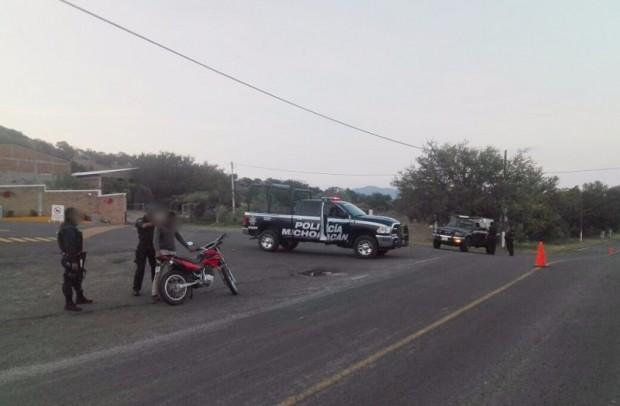 Bloqueos, reacción ante operativo del Gobierno del Estado contra el crimen