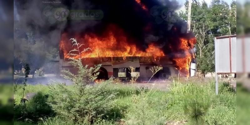 Nueve heridos en enfrentamiento entre estudiantes de Tiripetío y elementos de Seguridad Goes