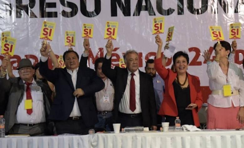 El Partido del Trabajo resolvió ir en alianza con Andrés Manuel López Obrador y Morena