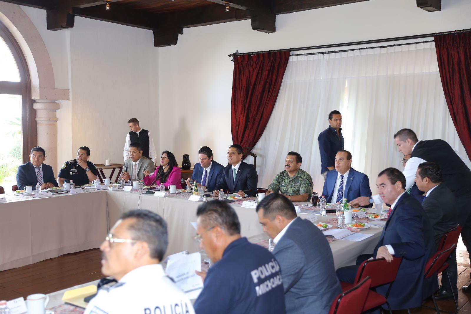 GCS acuerda mantener frente común para la seguridad de Morelia