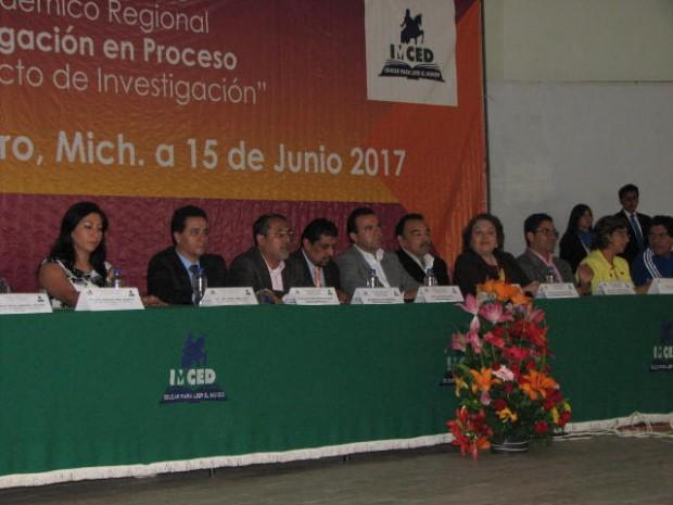 Concluye el XIX Encuentro Académico Regional del IMCED