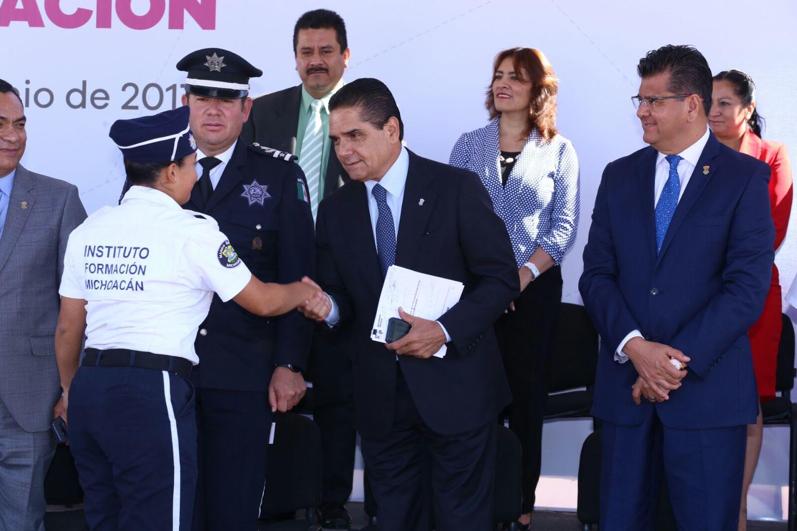 Michoacán se transformará de raíz en materia de seguridad: Silvano Aureoles
