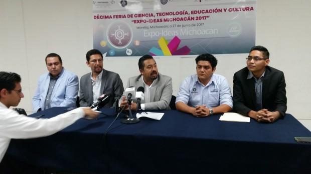 En septiembre la décima Feria Expo Ideas Michoacán 2017