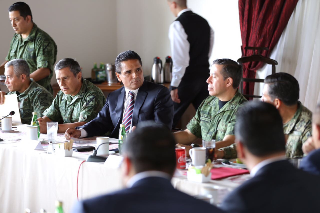 Grupo de Coordinación Michoacán analiza acciones operativas en regiones del Estado