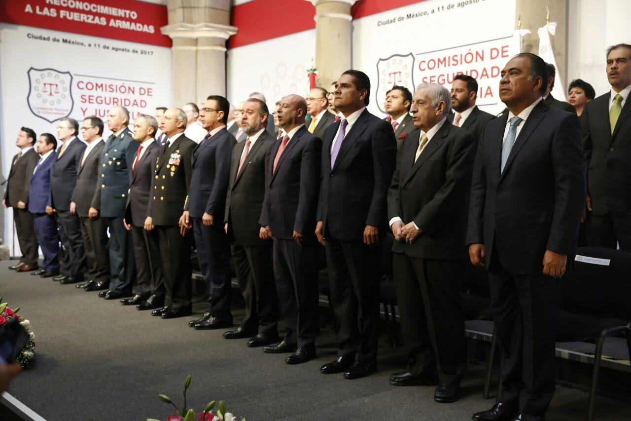 Asiste Gobernador a LIII Reunión Ordinaria de la Comisión de Seguridad y Justicia de la Conago