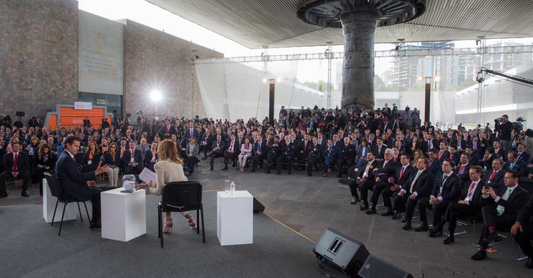 Informa Peña Nieto que durante su administración se han creado 3 millones 133 mil nuevos puestos de trabajo