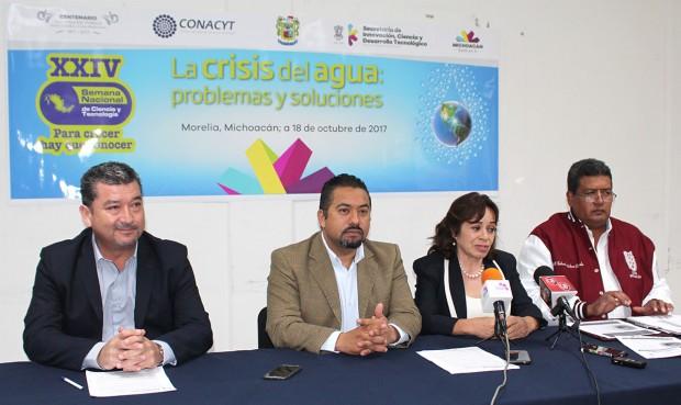 En Michoacán, más de mil 700 actividades durante la Semana Nacional de la Ciencia: SICDET