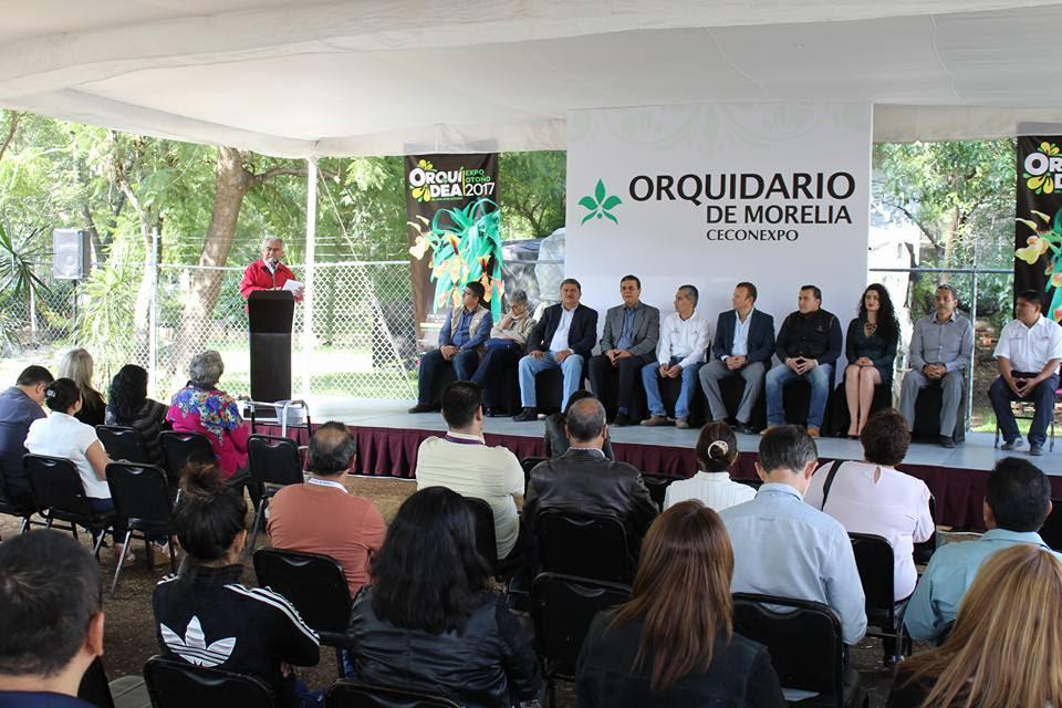Inauguran la tradicional Expo Orquídea de Otoño en el Ceconexpo