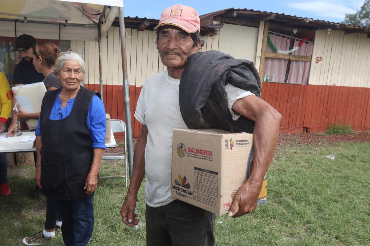 Este año, casi 180 mil apoyos de Sí Alimenta en comunidades indígenas: Sedesoh