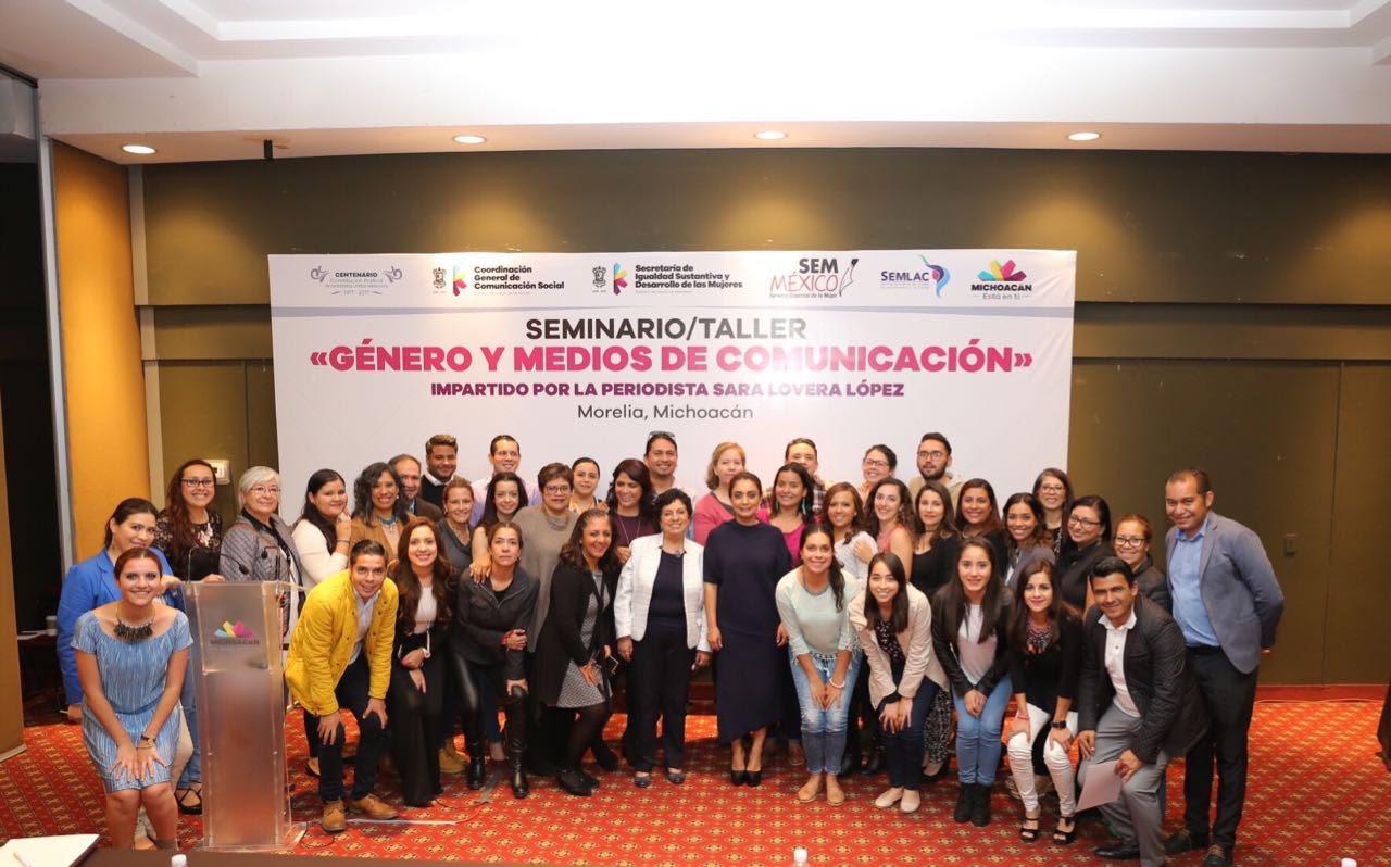 """Concluye Taller-Seminario """"Género y Medios de Comunicación"""""""
