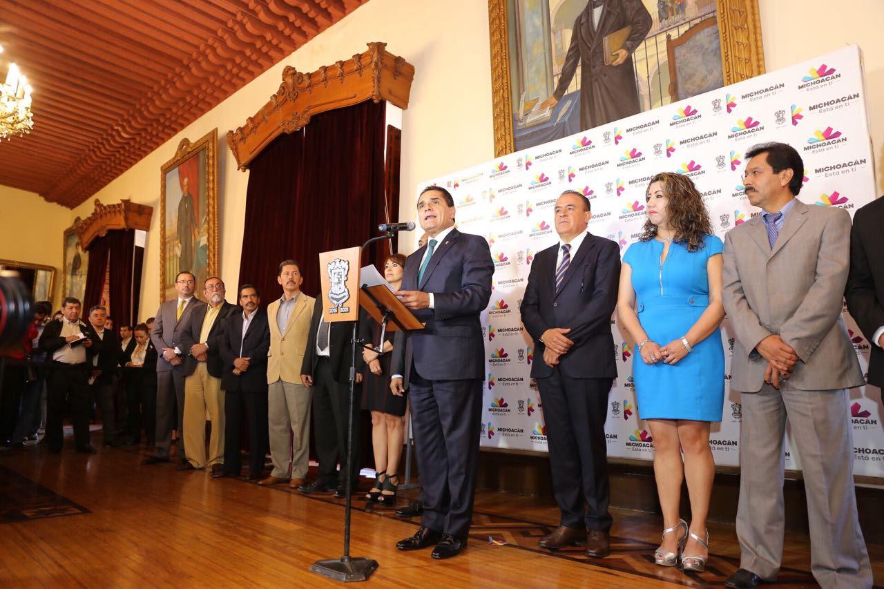 Anuncia Silvano Aureoles ajustes en el Gabinete Estatal