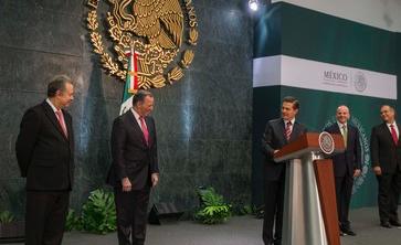 Anuncia Peña Nieto cambios en su Gabinete