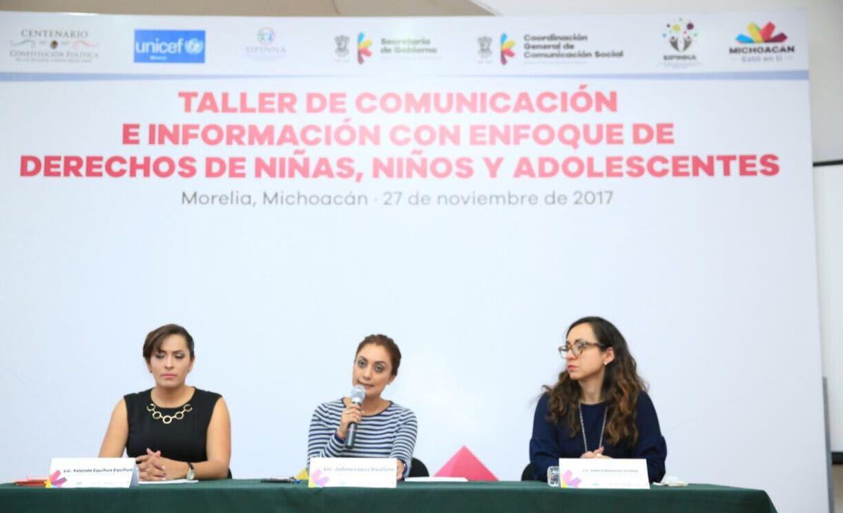 Nuestra premisa, preservar y hacer valer los derechos de niños, niñas y adolescentes: Julieta López