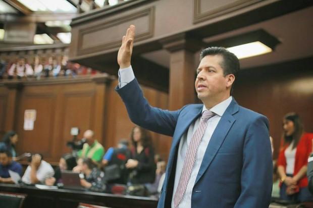 Asume Antonio García Conejo Presidencia de la JUCOPO en el Congreso del Estado