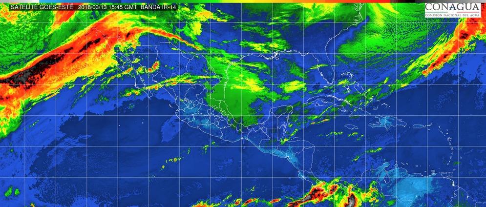 Lluvias puntuales fuertes acompañadas de actividad eléctrica en Veracruz, Oaxaca y Chiapas VERACRUZ, OAXACA Y CHIAPAS