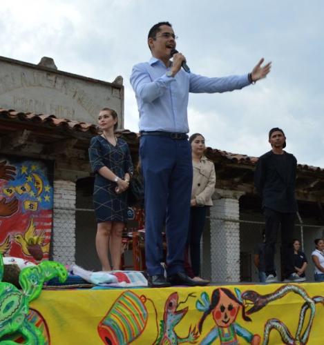 Presenta Miguel Ángel Villegas iniciativa en materia de cultura