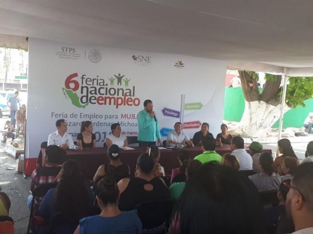 Apoya Sedeco a Mujeres a través de Ferias de Empleo