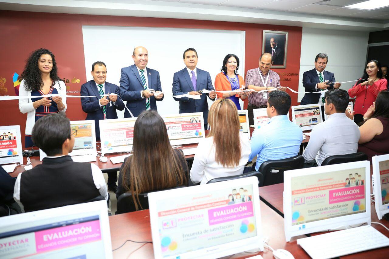 Inaugura Gobernador Silvano Aureoles el CLIP en la SEE