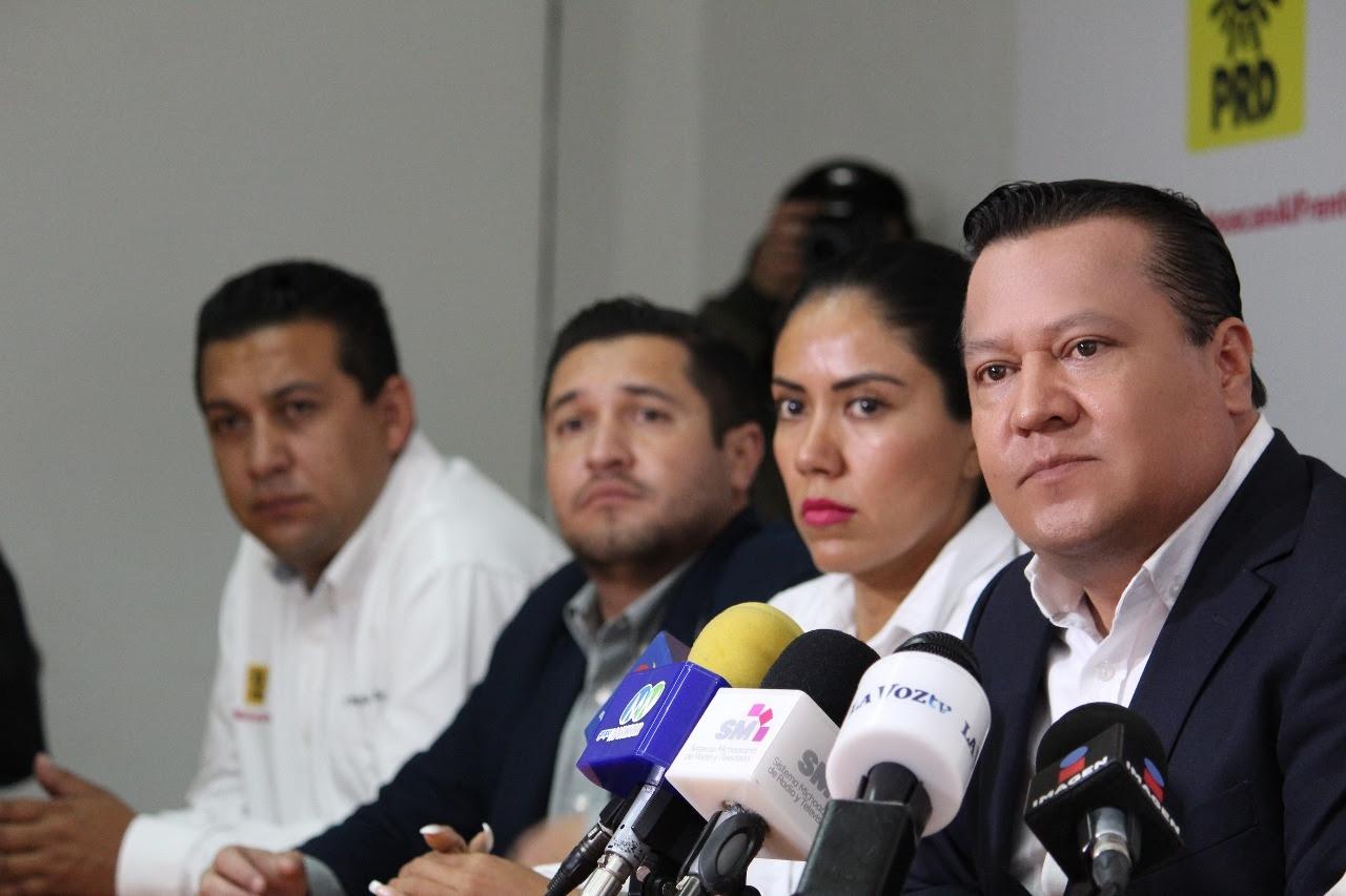 Ricardo Anaya con todo el respaldo de PRD, PAN y MC: García Avilés