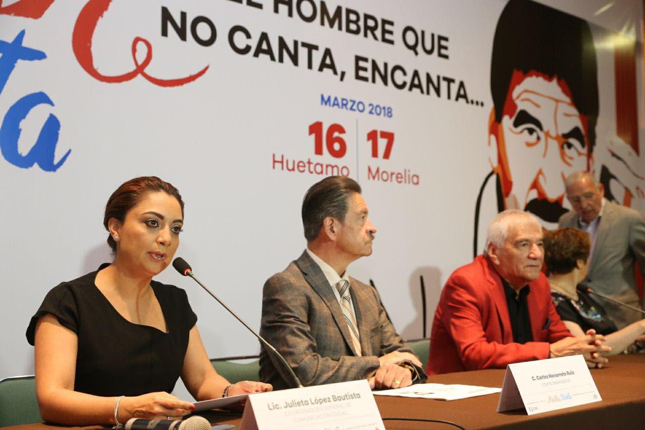 Gobierno del Estado rendirá homenaje al compositor michoacano Martín Urieta