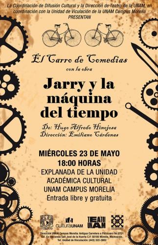 Regresa a UNAM Campus Morelia el Carro de Comedias