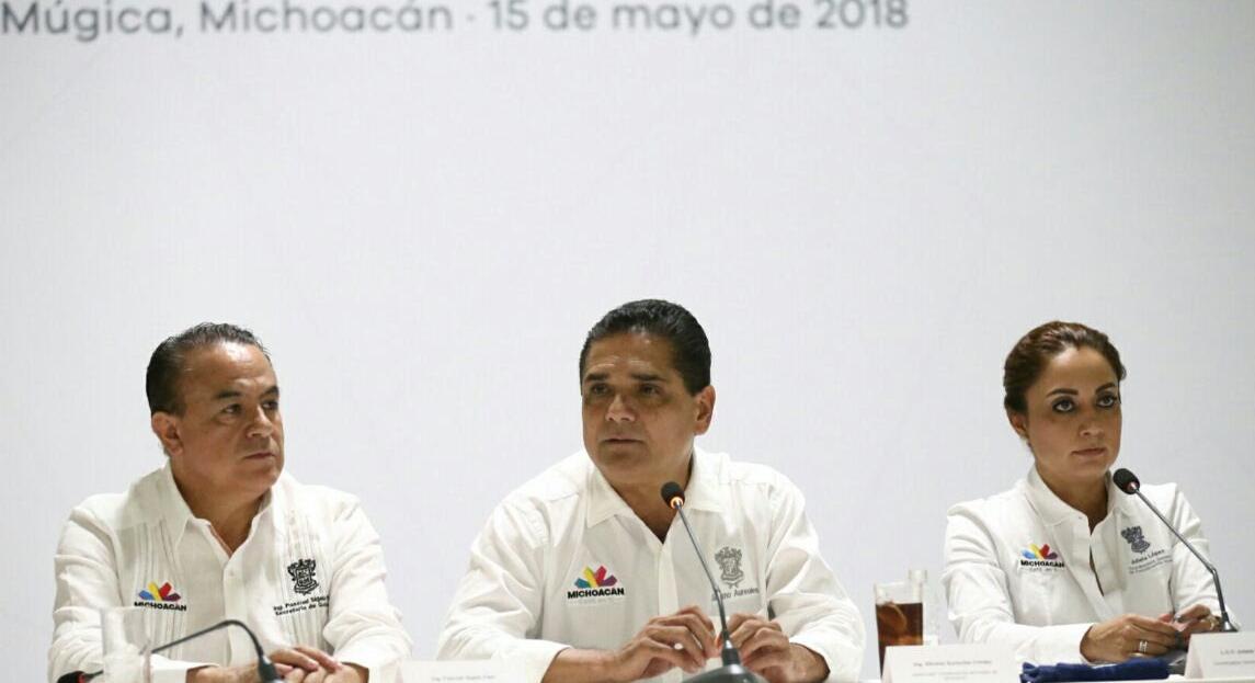 Todas las condiciones para un proceso electoral legal y en orden: Silvano Aureoles