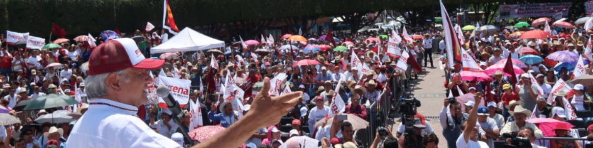 Anuncia AMLO que mañana fijará su postura sobre la declinación de Zavala