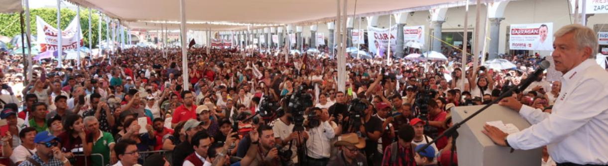 AMLO: Somos respetuosos de la libertad de creencia, estoy consciente de que el pueblo de México venera a la Virgen