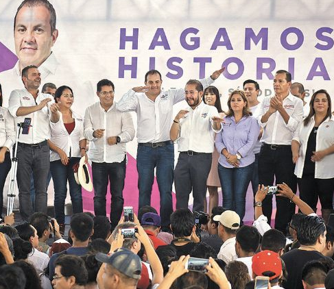 Cuauhtémoc Blanco sigue arrasando en las encuestas para Gobernador en el Estado de Morelos