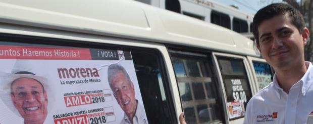 Transportistas y sociedad civil se suman a la candidatura de Salvador Arvizu, por el Distrito 16 local