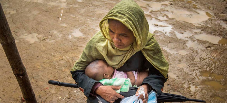Los campos rohinyás ven nacer a 60 bebés al día