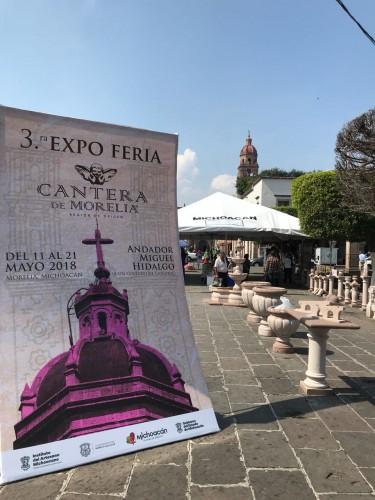 Inauguran 3ª Expo Feria de la Cantera