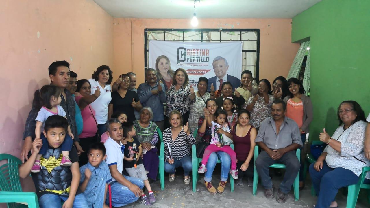 La gratitud y la confianza son activos determinantes en la nueva relación con la sociedad michoacana: Cristina Portillo